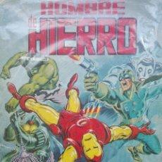 Cómics: EL HOMBRE DE HIERRO.RETAPADO N°1.180 PAGINAS A TODO COLOR.MUY DIFICIL DE CONSEGUIR. Lote 121684447