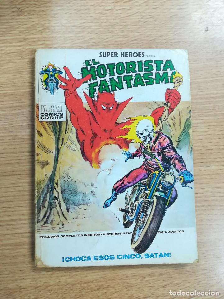 SUPER HEROES #4 MOTORISTA FANTASMA CHOCA ESOS CINCO SATAN (VERTICE) (Tebeos y Comics - Vértice - Super Héroes)