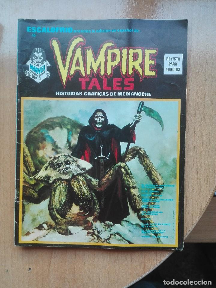 ESCALOFRIO N°10 VAMPIRE TALES.1974 (Tebeos y Comics - Vértice - Terror)