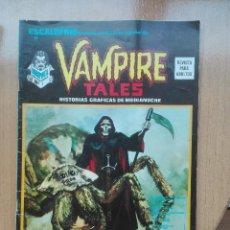 Cómics: ESCALOFRIO N°10 VAMPIRE TALES.1974. Lote 121739531