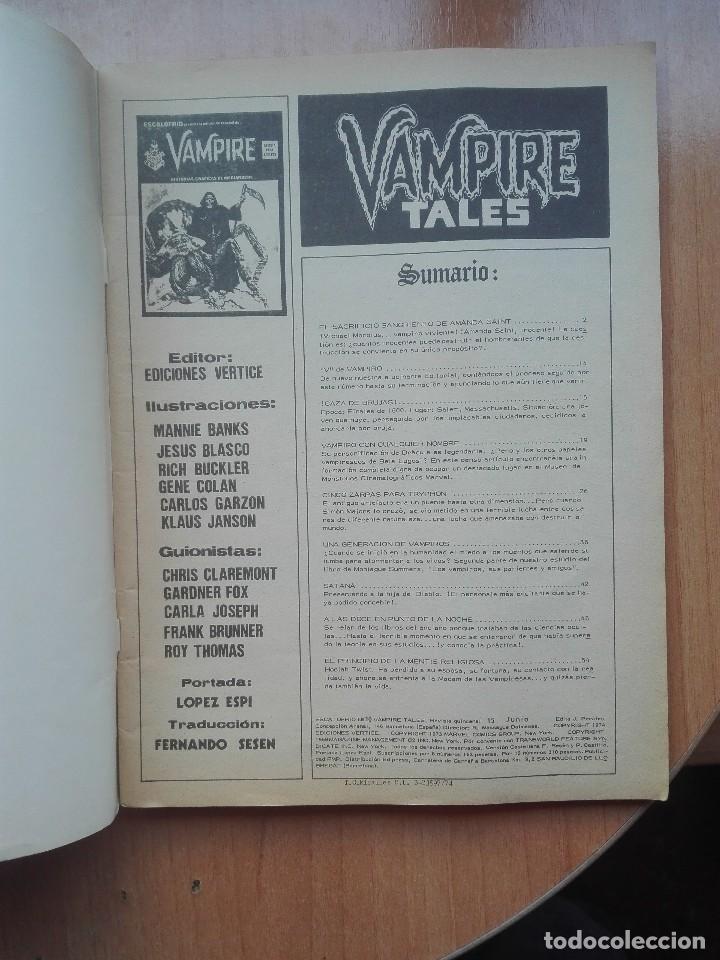 Cómics: Escalofrio n°10 Vampire Tales.1974 - Foto 2 - 121739531