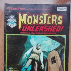 Cómics: ESCALOFRIO N°12.MONSTERS UNLEASHED!1974.MUY DIFÍCIL!!. Lote 121741355