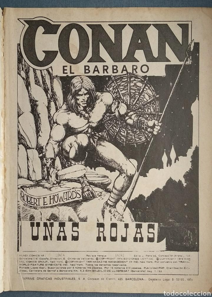 CONAN (Tebeos y Comics - Vértice - Conan)