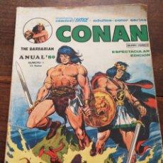 Cómics: CONAN THE BARBARIAN, MUNDI COMICS- CÓMICS VERTICE, N°1 ANUAL'80.. Lote 122287808