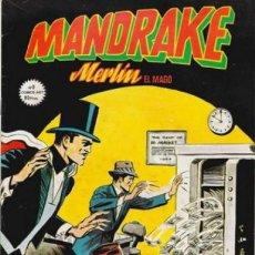 Cómics: MANDRAKE - MERLÍN EL MAGO- Nº 9 - FALSAS HUELLAS- 1980- EMOCIONANTE-MUY BUEN ESTADO-DIFÍCIL-8848. Lote 122477071