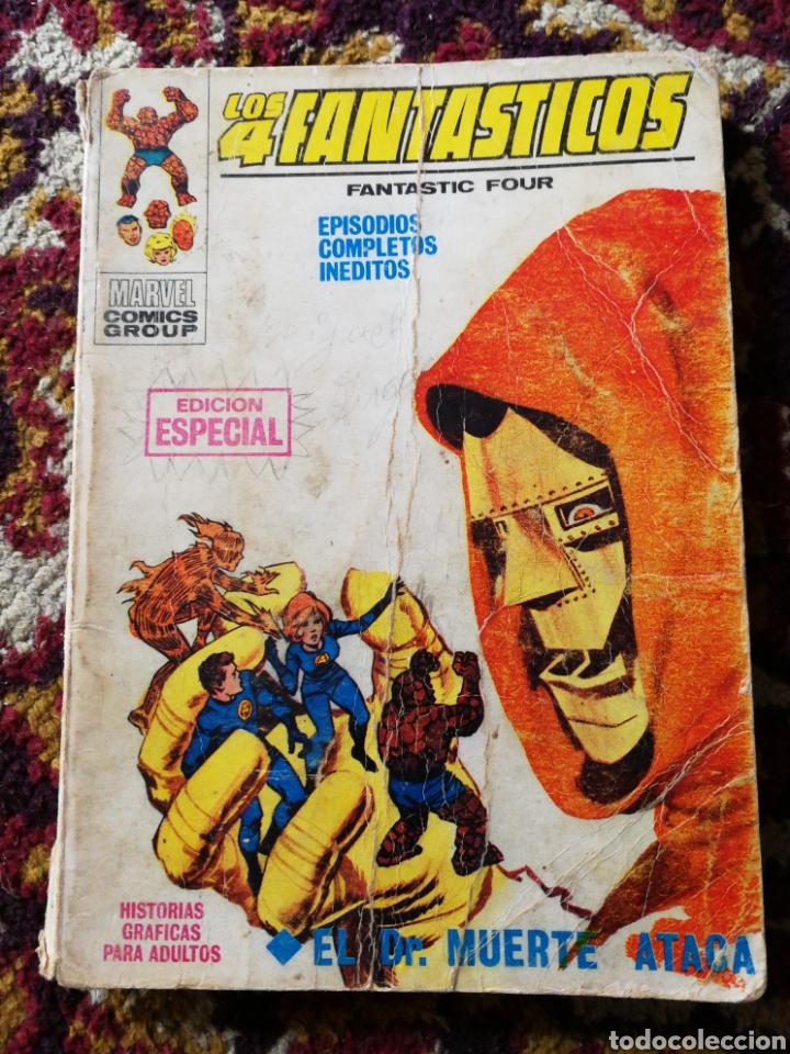 LOS 4 FANTASTICOS- EL DR.MUERTE ATACA, COMIC GROUP-MARVEL, VERTICE- N°9. (Tebeos y Comics - Vértice - 4 Fantásticos)