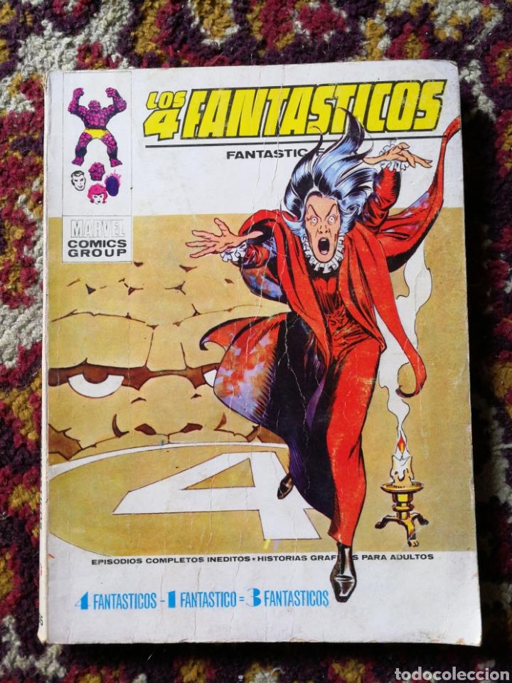 LOS 4 FANTASTICOS- 4F-1F: 3F, COMIC GROUP-MARVEL, VERTICE- N°55. (Tebeos y Comics - Vértice - 4 Fantásticos)