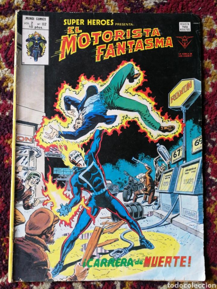 CÓMIC EL MOTORISTA FANTASMA- VERTICE, MUNDI COMICS VOL.2 N°112. (Tebeos y Comics - Vértice - Super Héroes)