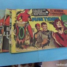Cómics: 13 TEBEOS, HÉROES MODERNOS, EL HOMBRE ENMASCARADO SERIE A,EDITORIAL DOLAR,. Lote 123227239