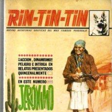 Cómics: RIN-TIN-TIN ( EN ESTE NUMERO: JERONIMO ) NUMERO 22. Lote 123229107