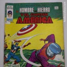 Cómics: EL HOMBRE DE HIERRO Y EL CAPITAN AMERICA V1 Nº 9 VERTICE. Lote 123294347