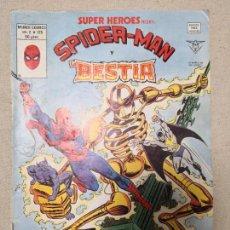 Cómics: SUPER HEROES SPIDERMAN Y BESTIA V 2 126. Lote 123294763