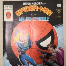 Cómics: SUPER HEROES SPIDERMAN Y LA MUJER INVISIBLE V 2 124. Lote 123294775