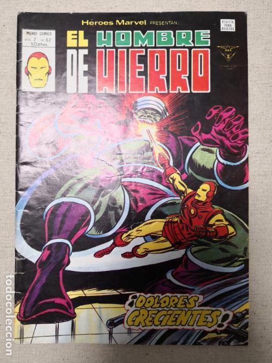 EL HOMBRE DE HIERRO V 2 62 VERTICE (Tebeos y Comics - Vértice - Hombre de Hierro)