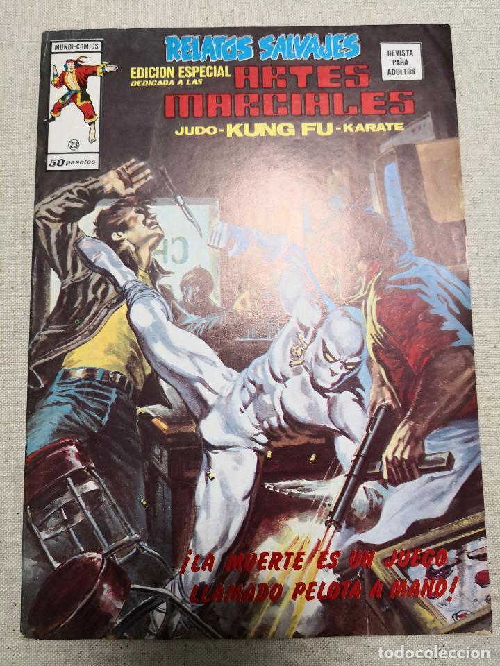 RELATOS SALVAJES EDICIÓN ESPECIAL ARTES MARCIALES 23 VERTICE (Tebeos y Comics - Vértice - Relatos Salvajes)
