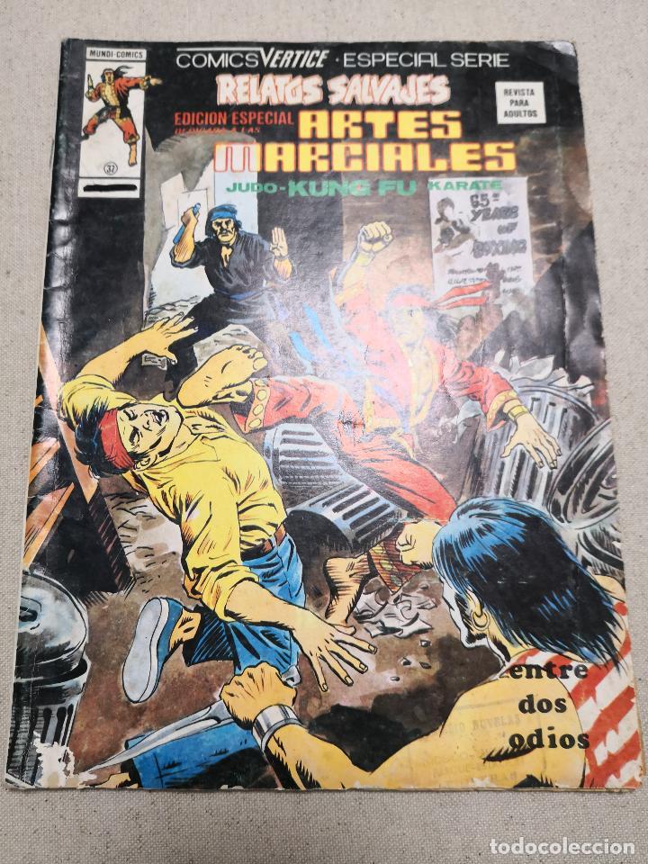 RELATOS SALVAJES EDICIÓN ESPECIAL ARTES MARCIALES 32 VERTICE (Tebeos y Comics - Vértice - Relatos Salvajes)