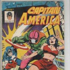 Cómics: CAPITAN AMERICA-COLOR-AÑO 1981-VERTICE-FORMATO GRAPA-Nº 10-NAZI X. Lote 224968915