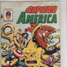 Cómics: CAPITAN AMERICA-COLOR-AÑO 1981-VERTICE-FORMATO GRAPA-Nº 9-ARNIN ZOLA EL BIO-FANATICO. Lote 224968997