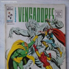 Cómics: LOS VENGADORES V 2 Nº 7 - EDICIONES VÉRTICE 1974. Lote 123335591