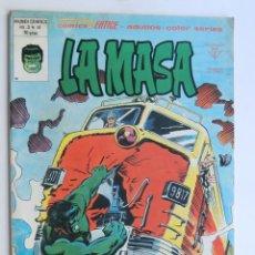 Cómics: LA MASA / VOL.3 - Nº 41 / FURIA A 50000 VOLTIOS / VERTICE / SIN USAR. Lote 123348995