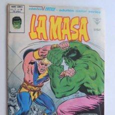 Cómics: LA MASA / VOL.3 - Nº 38 / PELIGRO DEL PLANETA PLURAL / VERTICE. Lote 123515075