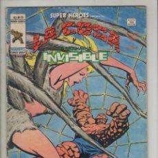 Cómics: LA COSA Y LA MUCHACHA INVISIBLE-SUPER HEROES-VOL.2-AÑO 1978-B/N-VERTICE-FORMATO GRAPA-Nº 95-SOLO..... Lote 123536063