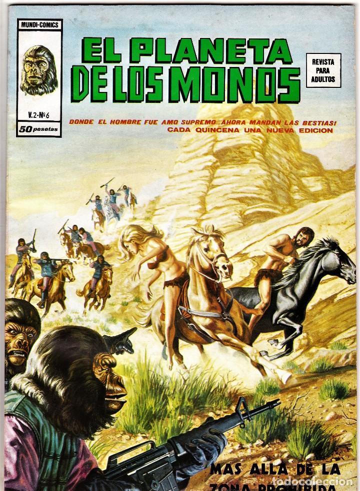 EL PLANETA DE LOS MONOS (RELATOS SALVAJES) VOL. 2 Nº: 6. VÉRTICE, 1977. (Tebeos y Comics - Vértice - Relatos Salvajes)