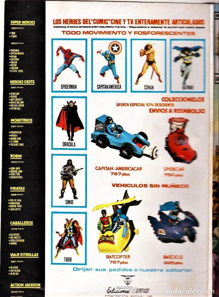 Cómics: EL PLANETA DE LOS MONOS (Relatos Salvajes) vol. 2 nº: 6. Vértice, 1977. - Foto 2 - 123810691