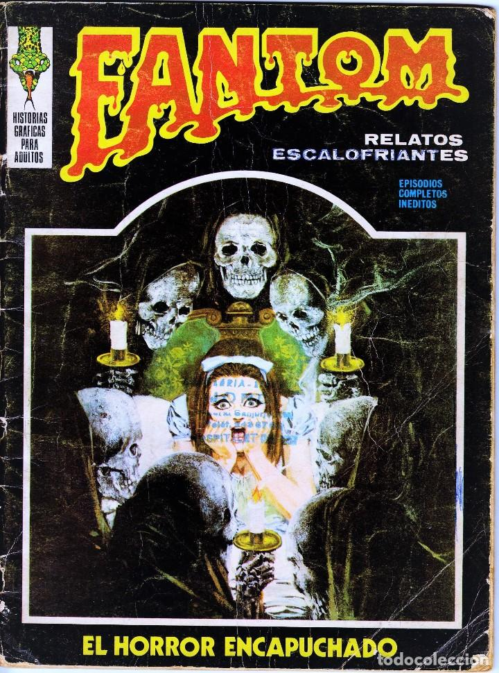 FANTOM VOL.1 Nº: 9. VÉRTICE, 1973. (Tebeos y Comics - Vértice - Terror)
