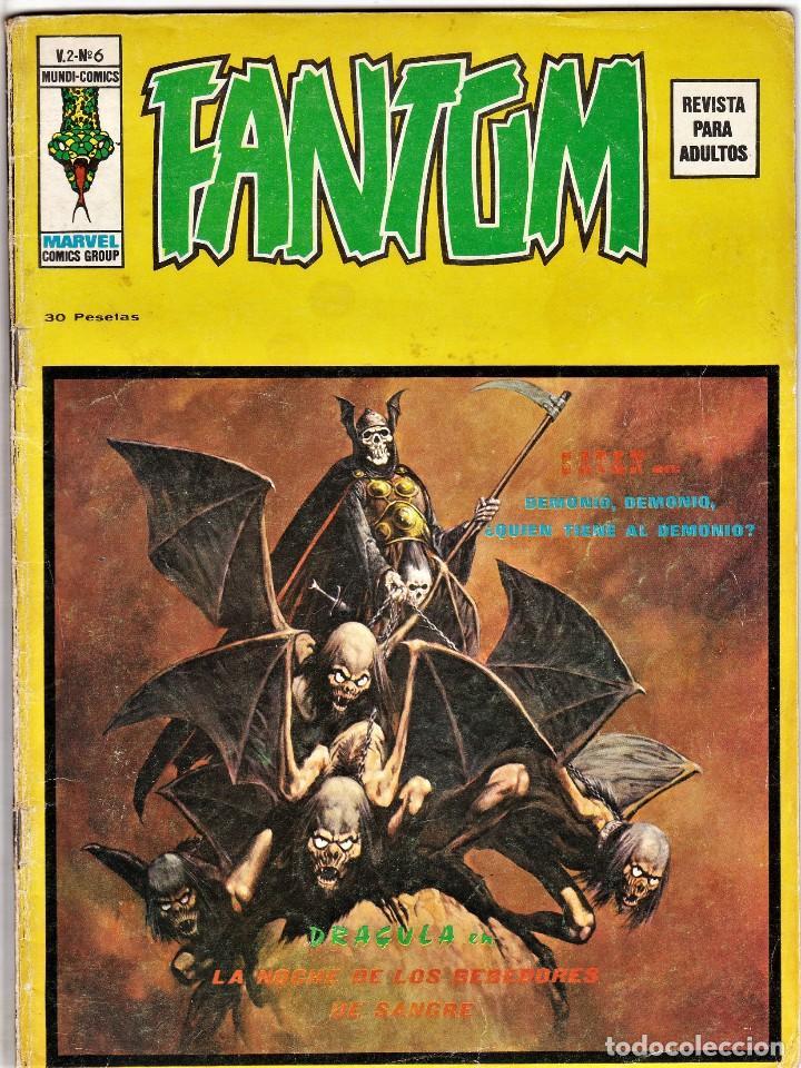 FANTOM VOL.2 Nº: 6. VÉRTICE, 1974. (Tebeos y Comics - Vértice - Terror)
