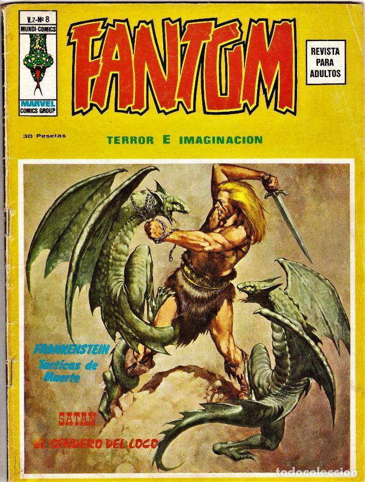FANTOM VOL.2 Nº: 8. VÉRTICE, 1975. (Tebeos y Comics - Vértice - Terror)