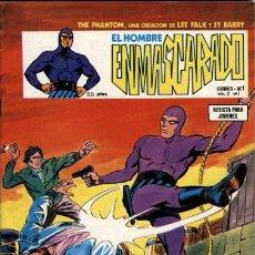 Cómics: VERTICE, NÚMEROS 1: EL HOMBRE ENMASCARADO VOL.2 (1979) DE LEE FALK, WILSON MCCOY Y SY BARRY. Lote 124154715