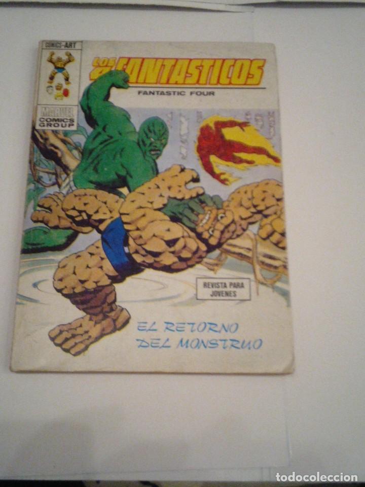 LOS 4 FANTASTICOS - VERTICE - VOLUMEN 1 - NUMERO 62 - MUY BUEN ESTADO - CJ 88 - GORBAUD (Tebeos y Comics - Vértice - 4 Fantásticos)