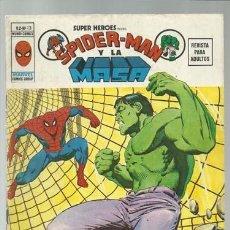 Cómics: SUPER HÉROES VOL. 2 Nº 13: SPIDER-MAN Y LA MASA, 1974, VERTICE, BUEN ESTADO. Lote 124223667