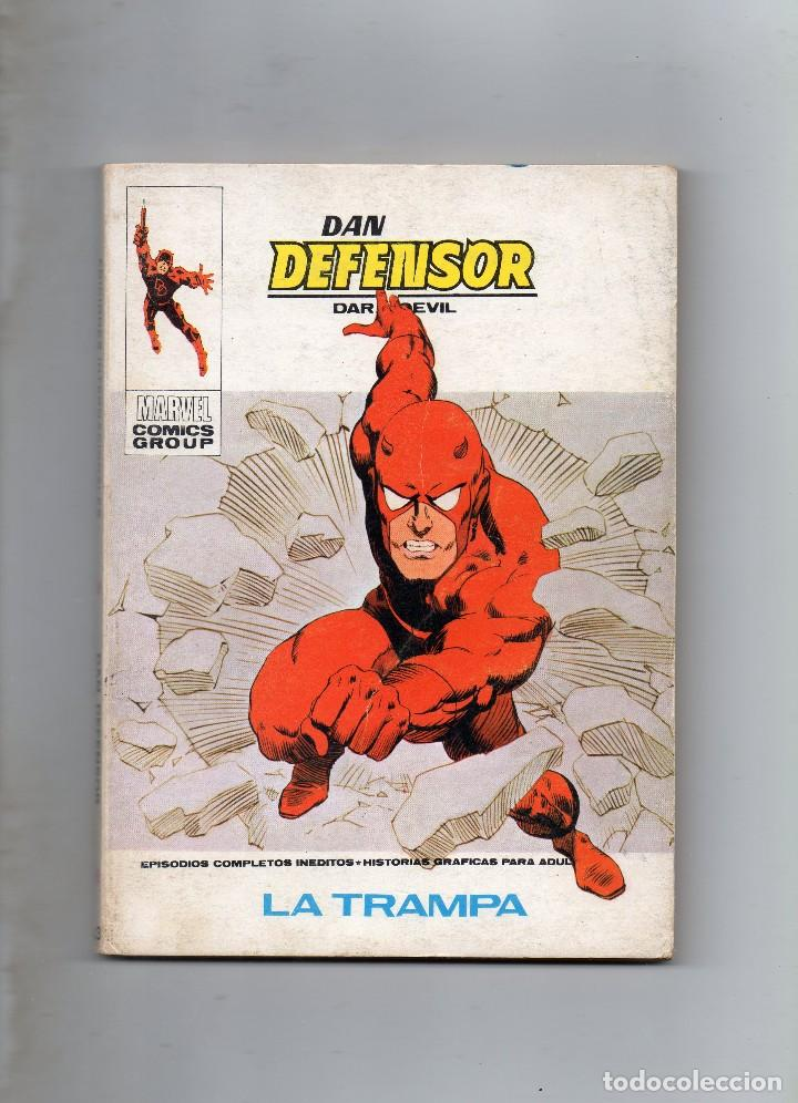 COMIC VERTICE DAN DEFENSOR VOL1 Nº 43 ( BUEN ESTADO ) (Tebeos y Comics - Vértice - V.1)