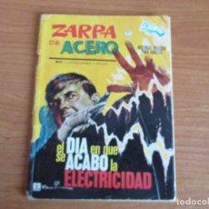 Cómics: EDITORIAL VERTICE: ZARPA DE ACERO Nº 9 PRIMERA EDICION. Lote 124426235
