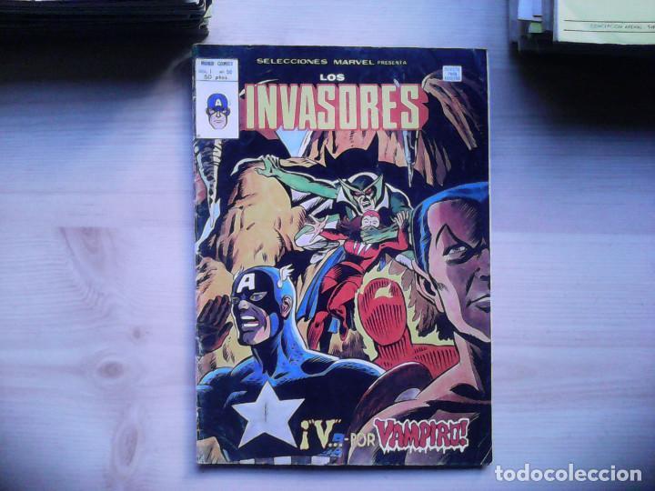 SELECCIONES MARVEL. Nº 50 LOS INVASORES (Tebeos y Comics - Vértice - Otros)