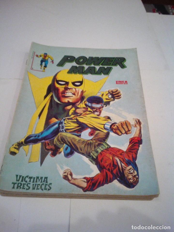 Cómics: POWER MAN - SURCO - COMPLETA - VERTICE - BUEN ESTADO - CJ 37 - GORBAUD - Foto 1 - 124656195