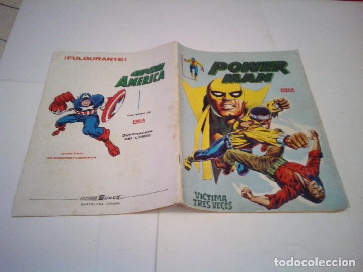 Cómics: POWER MAN - SURCO - COMPLETA - VERTICE - BUEN ESTADO - CJ 37 - GORBAUD - Foto 5 - 124656195