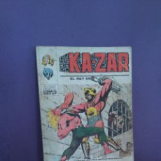 Cómics: KA-ZAR Nº7. Lote 124662399