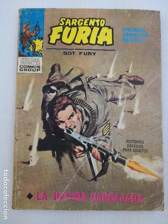 SARGENTO FURIA 2 VERTICE BUEN ESTADO (Tebeos y Comics - Vértice - Furia)