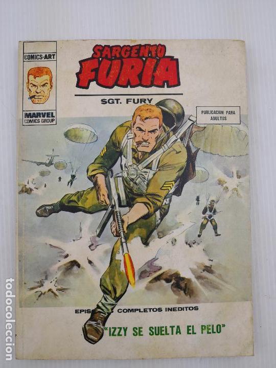 SARGENTO FURIA 27 VERTICE BUEN ESTADO (Tebeos y Comics - Vértice - Furia)