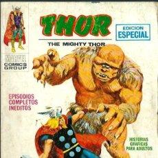 Cómics: THOR Nº 11 - EL FIN DE LA LUCHA - VERTICE V.1 TACO - EDICION ESPECIAL - AÑOS 70. Lote 125155211