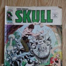 Comics: SUPER HEROES SKULL V 2 Nº 52 AÑO 1974 TUMULTO EN LA TORRE DEL TIEMPO MUNDI COMICS VERTICE. Lote 125193987
