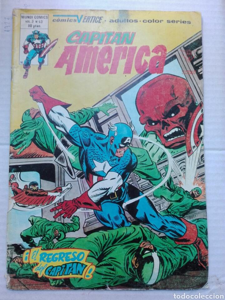 CAPITÁN AMÉRICA VOLUMEN 3 43 VÉRTICE (Tebeos y Comics - Vértice - Capitán América)