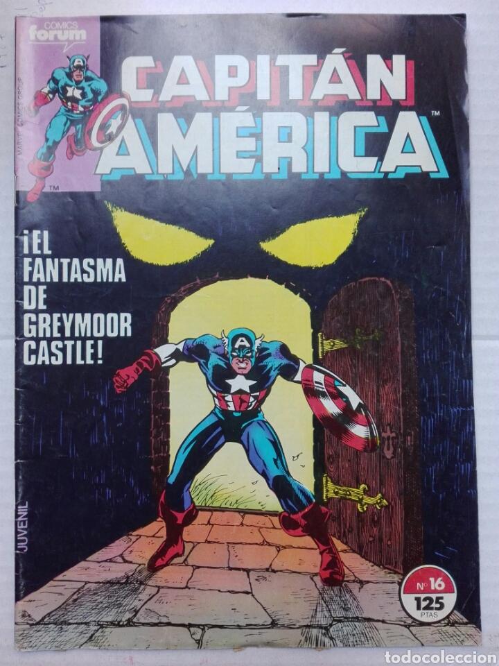 CAPITÁN AMÉRICA NÚMERO 16 MARVEL CÓMICS (Tebeos y Comics - Vértice - Capitán América)