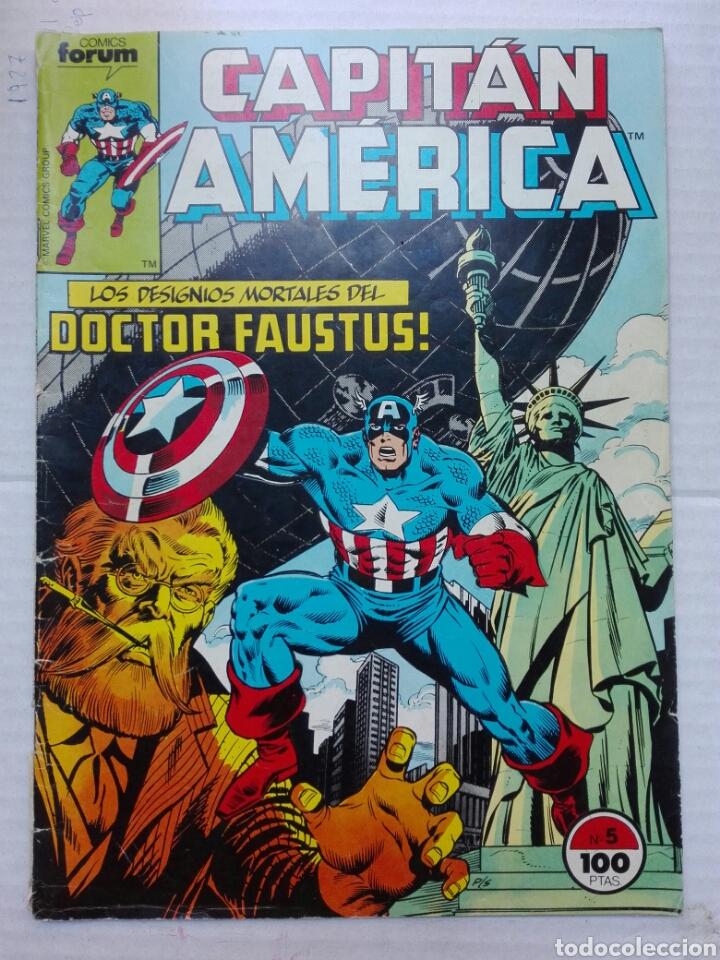 CAPITÁN AMÉRICA N 5 MARVEL GROUP (Tebeos y Comics - Vértice - Capitán América)
