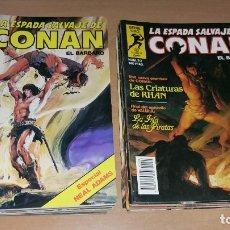 Cómics: LOTE 30 COMICS LA ESPADA SALVAJE DE CONAN SERIE ORO DEL 1 AL 46 PRIMERA EDICIÓN. Lote 125276351