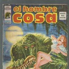 Cómics: EL HOMBRE COSA Nº 1, 1975, VERTICE, BUEN ESTADO. Lote 125370791