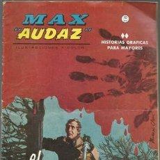 Cómics: MAX AUDAZ 4, 1965, VERTICE, BUEN ESTADO. Lote 125371191